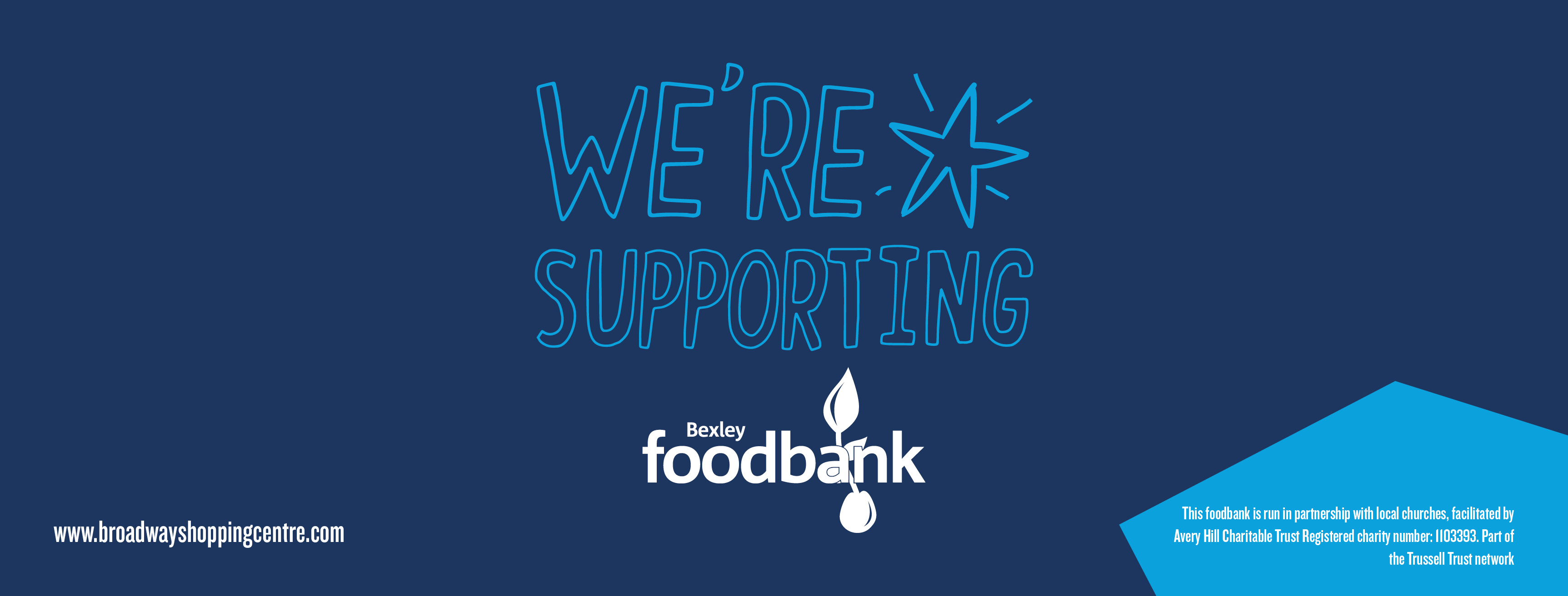 8. Foodbank – facebook banner