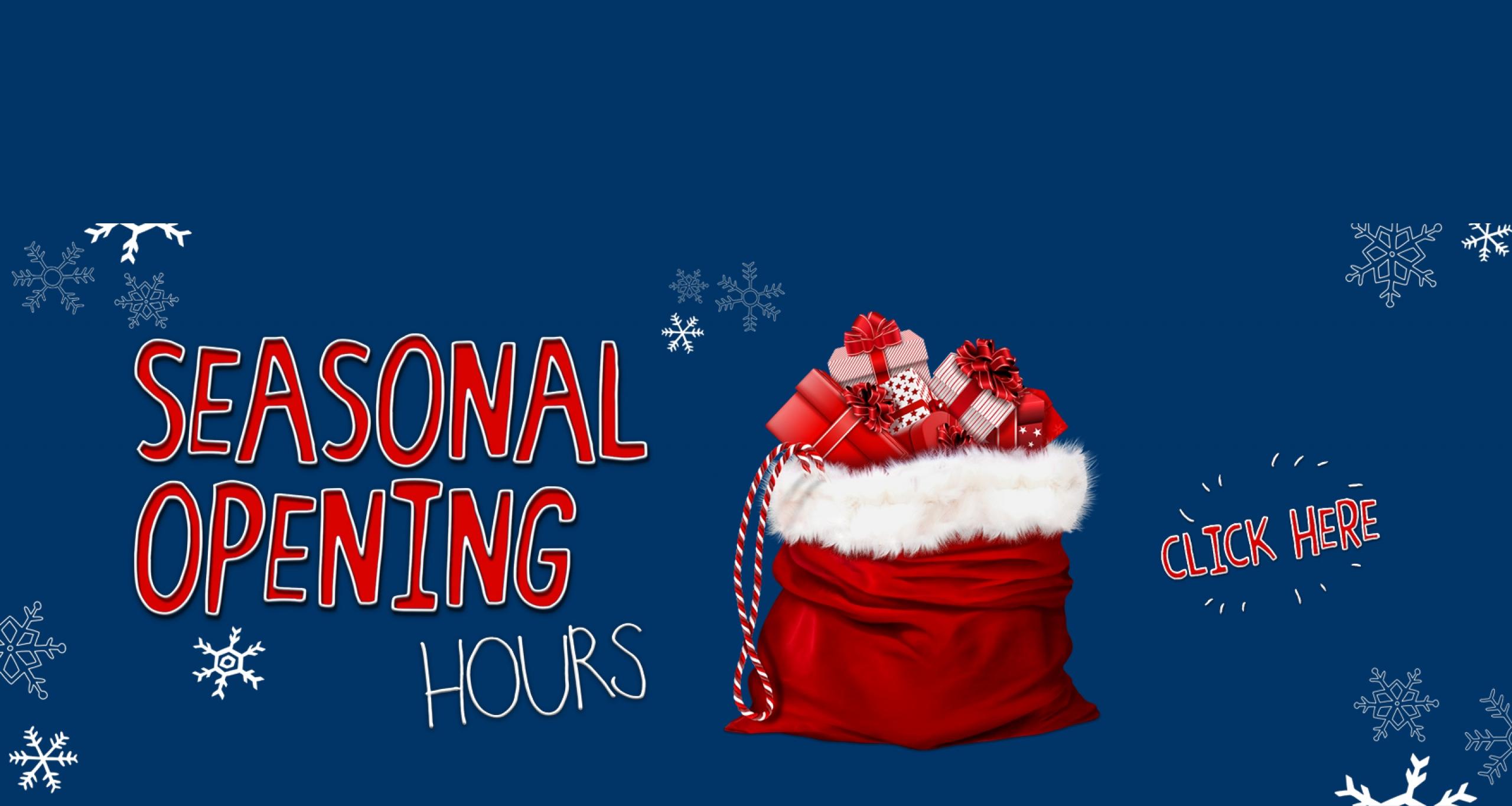 Broadway – opening hours website banner